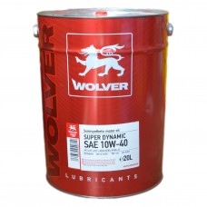 Масло моторное WOLVER Super Dynamic 10W-40 (20л)