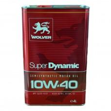 Масло моторное WOLVER Super Dynamic 10W-40 (4л)