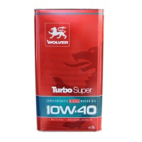 Масло моторное WOLVER Turbo Super 10W-40 (5л)