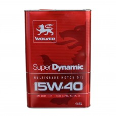 Масло моторное WOLVER Super Dynamic 15W-40 (4л)