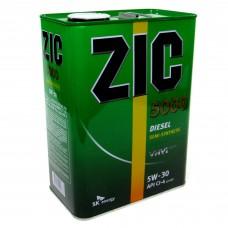 Масло моторное ZIC X7 Diesel (Ребренд. 5000) 5W-30 (4л)