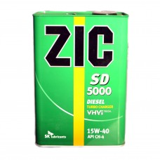 Масло моторное ZIC X3000 (Ребренд. SD 5000) 15W-40 (4л)