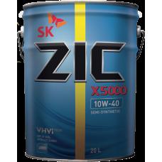 Масло моторное ZIC X5000 (Ребренд. 5000) 10W-40 (20л)